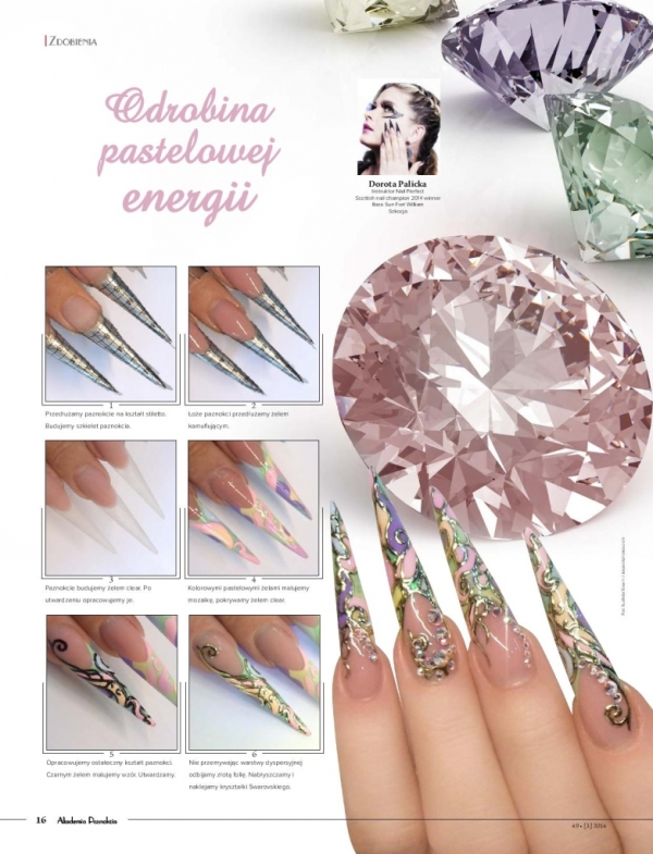 Jewellery Nail Art Step By