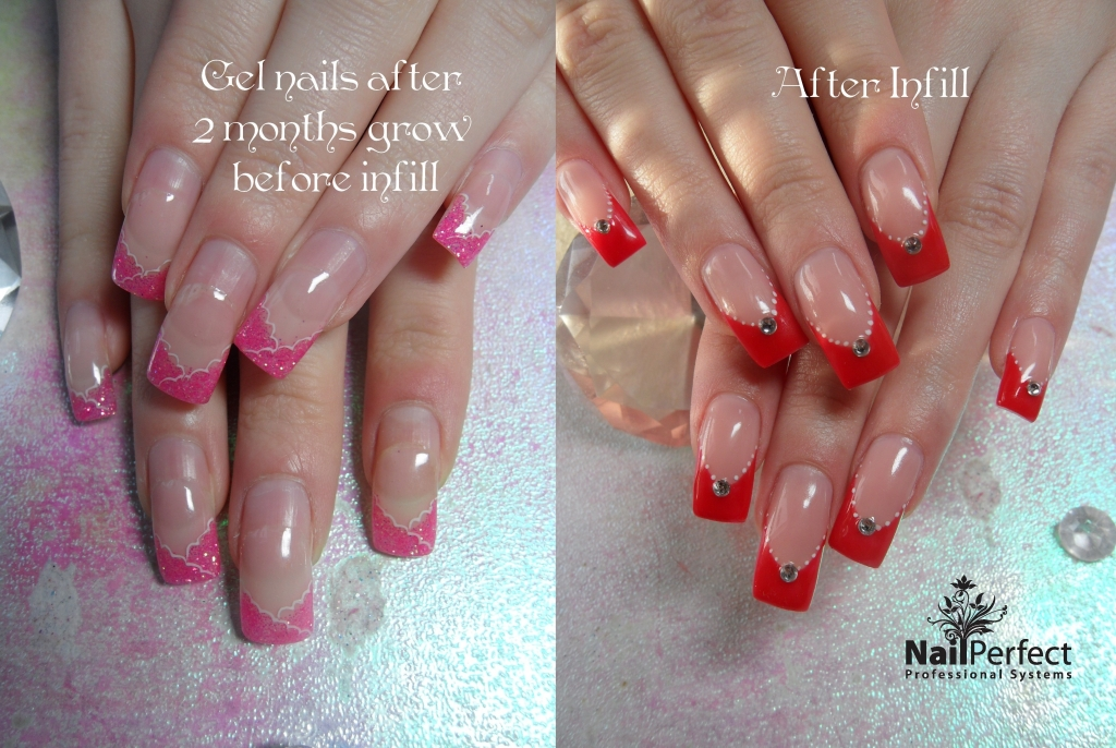 Gallery nails are my passion into which put your whole heart and nails done using nail perfect professional system products nail perfect secret pink cover gel and nail perfect red color gel freerunsca